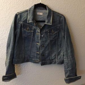 Jackets & Blazers - Maternity Jean Jacket