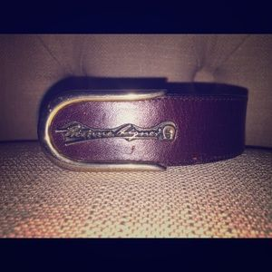 Etienne Aigner Brown belt size 28