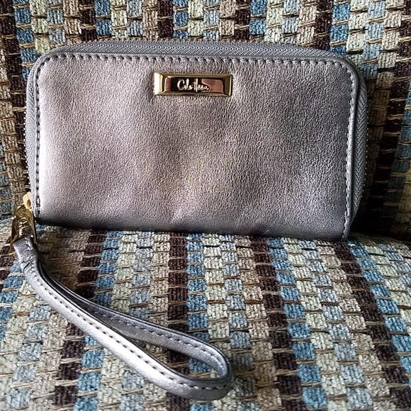 b13c2d250 Cole Haan Bags | Small Silver Walletcoin Purse | Poshmark