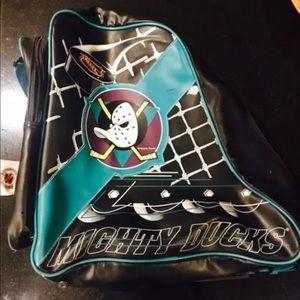 Vintage Mighty Ducks Skate Bag