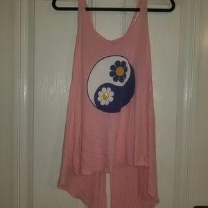 WILDFOX Ying Yang Sunflower Tank Dress SMALL
