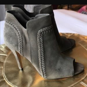 Vince Camuto Oliver Suede Ankle Booties