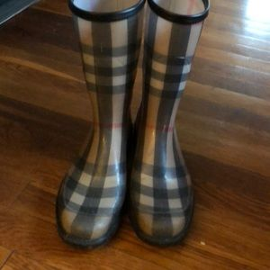 BURBERRY Rainboots