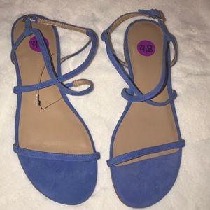 Lapis Blue Banana Republic sandals