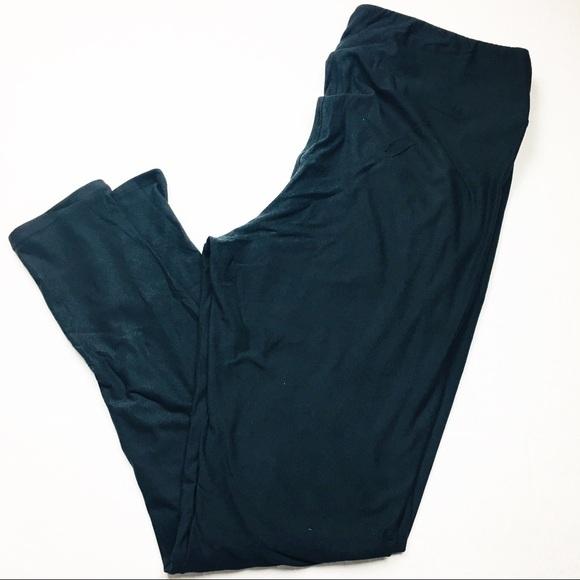 ff2634b809ae13 LuLaRoe Pants | Nwt Noir Solid Black Tc2 Leggings | Poshmark