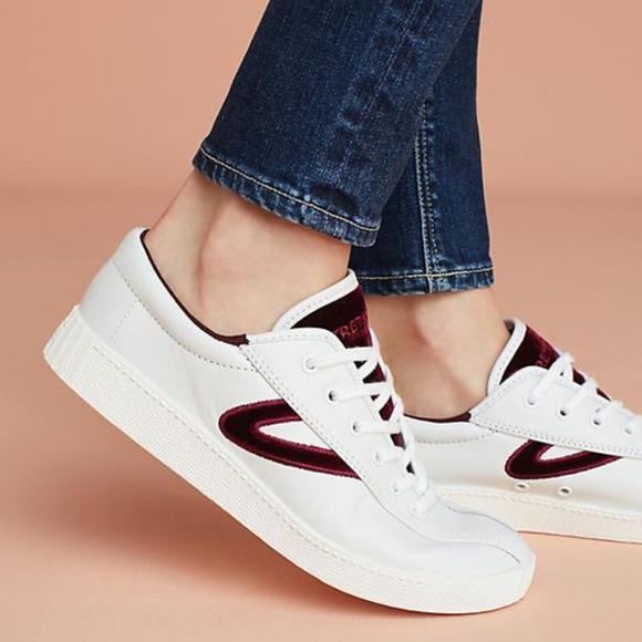 velvet tretorn sneakers