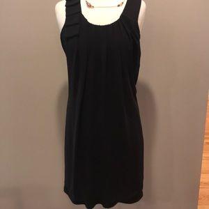 ABSOLUTELY STUNNING BLACK CHIFFON LAYERED DRESS