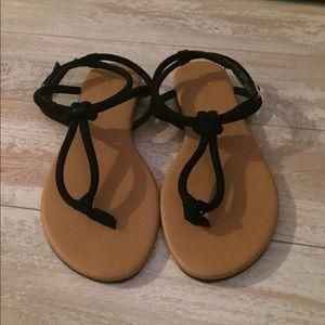 Black Charlotte Russe sandals