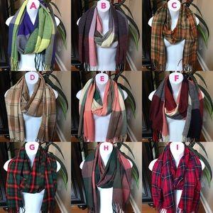 Accessories - 🧣 Winter Blanket Plaid Scarf