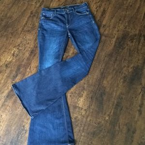 Express Bell Flare High Rise Jeans