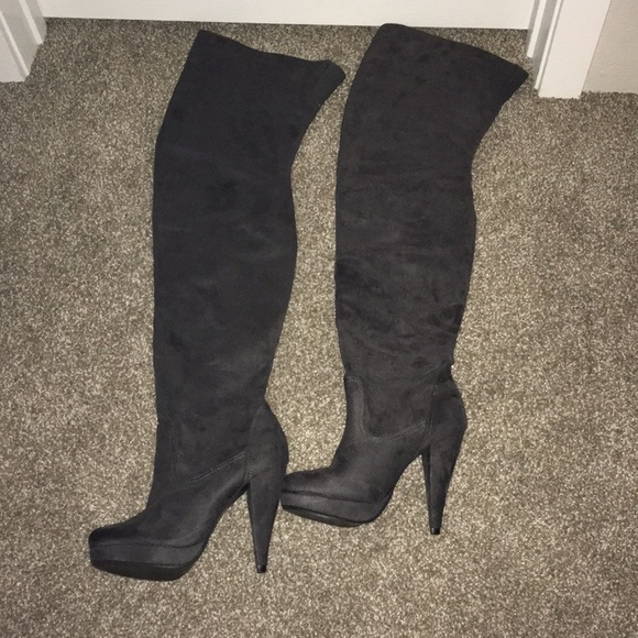 7fe64bca9cf Charlotte Russe Shoes - NWOT Over the knee heeled boots
