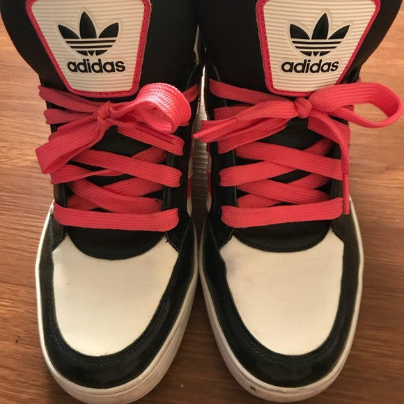 adidas Shoes   Adidas High Tops Pink