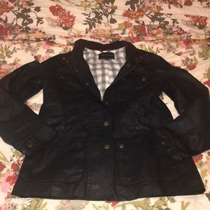 Banana Republic Navy Utility Jacket
