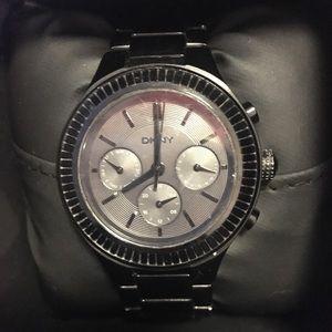 DKNY women's watch- Black Monochrome