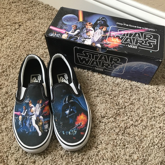 Vans Shoes - Star Wars Vans A NEW HOPE Classic Slip on 720e94b7ad