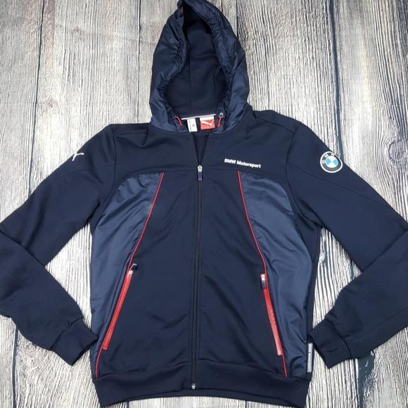 39e5bd303d23 Puma BMW Motorsport Mens Hoodie Jacket