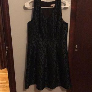 Barely worn loft dress animal print