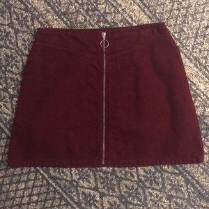 ASOS ZIP Up Skirt
