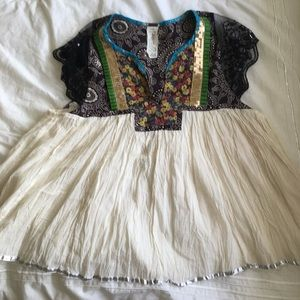 Festive Free People Top
