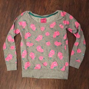 Tops - Rose Sweatshirt