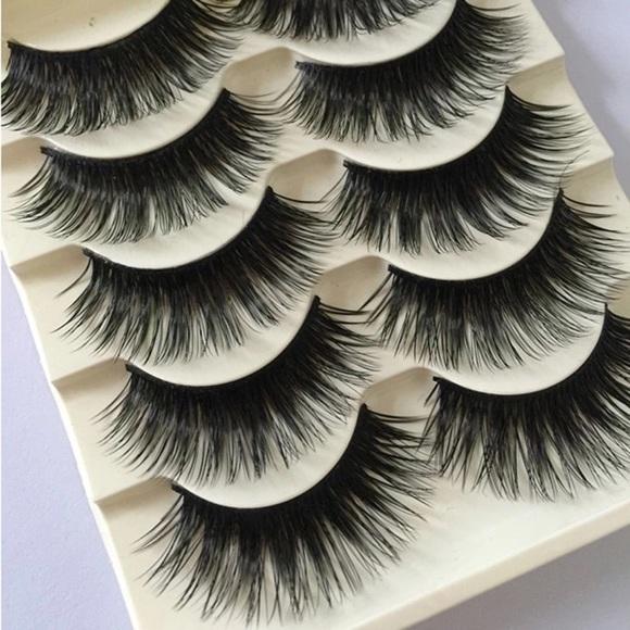 Makeup 5 Pairs Dramatic Fluttery Eyelashes Poshmark