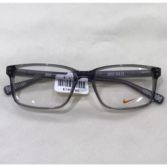 Nike Accessories | 7240 Gray Eyeglasses Premium Full Frame | Poshmark