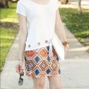 Dresses & Skirts - Boutique Item: Aztec Sequin Mini Skirt