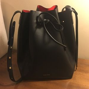{HOLD}Authentic Mansur Gavriel  leather bucket bag