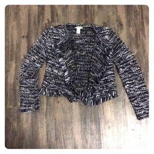 H&M Fringe Jacket
