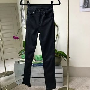 CARMAR High Waisted Black Skinny Jeans