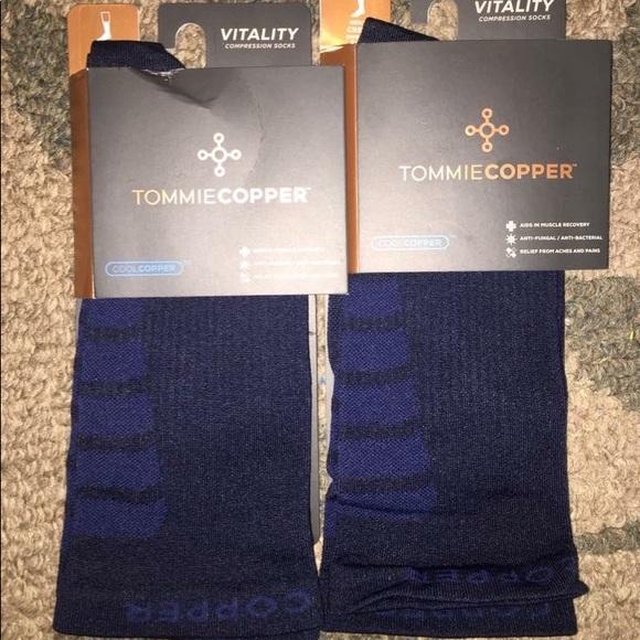 60e13a17a5 Tommie Copper Underwear & Socks | Nwt Compression Socks Mens Sz 685 ...