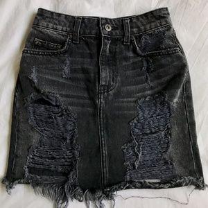 Distressed Grey LF Carmar Skirt 23