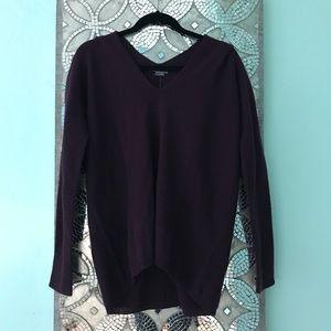 Purple Vince Cashmere Sweater