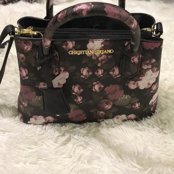 floral crossbody bag - Brown Christian Siriano cRhGhFLId
