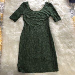 Banana Republic Dresses - Banana Republic • Green Lace Dress