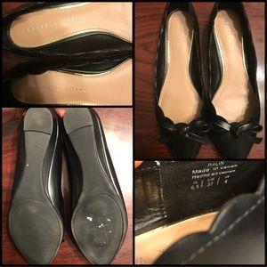 Ralin Women Leather Black Ballet Flats