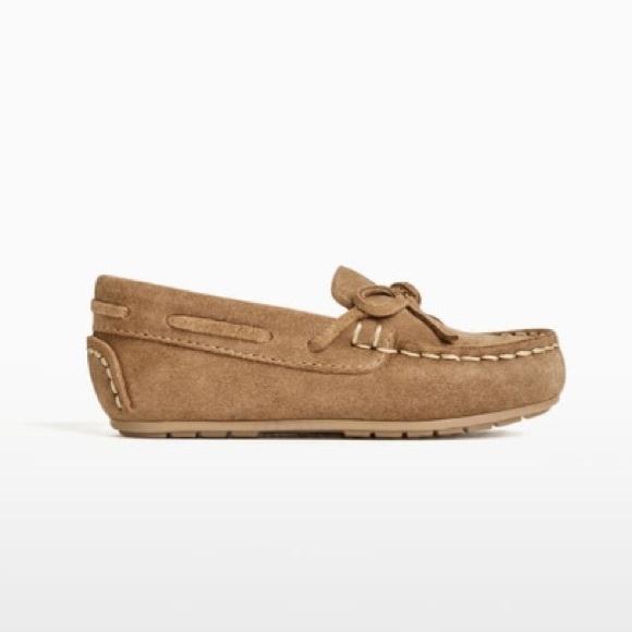 Nwt Zara Baby Boy Loafers Size 65c