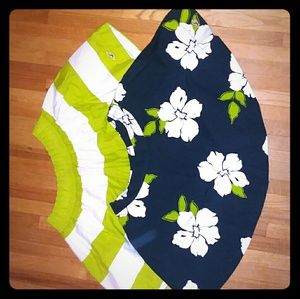 Hollister bundle of knee-high skirts