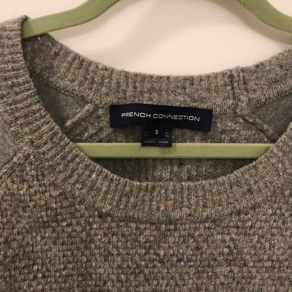 French Connection Sweaters - French Connection textured neps sweater