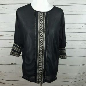 Urban Outfitters Detailed Blouse