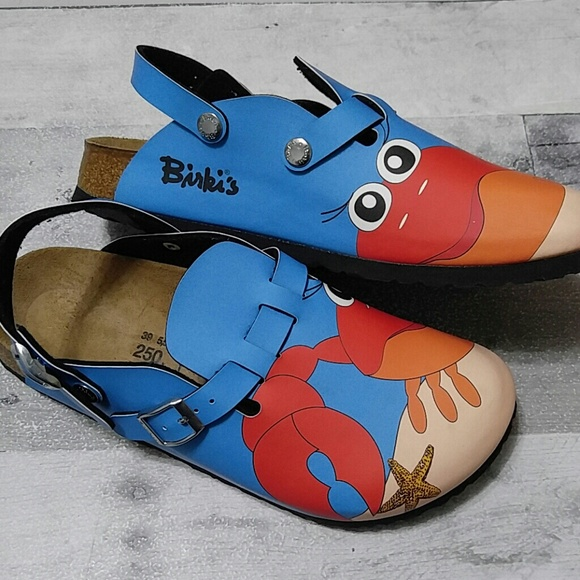 Birki's Crab Kay Clogs Sandals 39 US 8