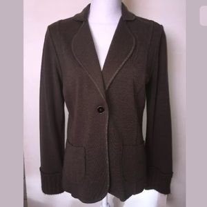 Rachel Roy sweater blazer camo color size large