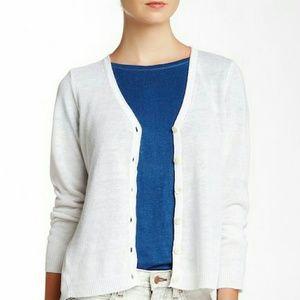 Eileen Fisher Organic Linen Cardigan, NWT