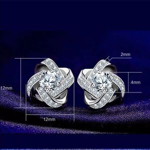 Lovely S925 Sterling Silver Earrings