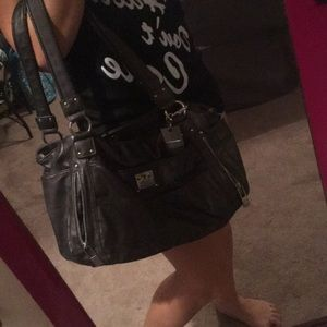 Metallic grey purse OFFERS WELCOME