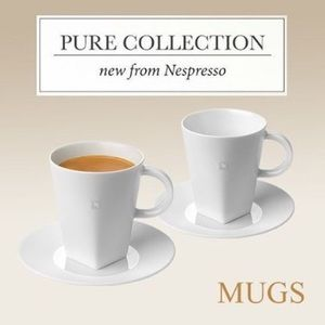 33dae2d3b62bc Accessories - Brand new set of 2 Nespresso Pure Collection Mugs