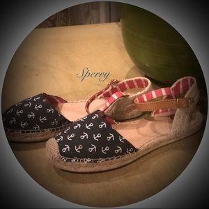 Sperry Espadrille sandals 7.5