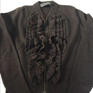 Lanvin ruffle sweater