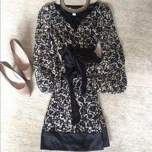 DVF Diane Von Furstenburg Sample Silk Wrap Dress