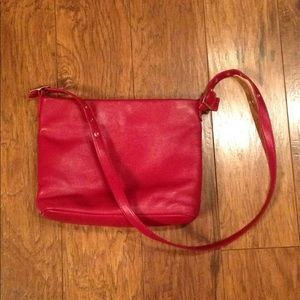 Etienne Aigner Red Body Crossover Purse